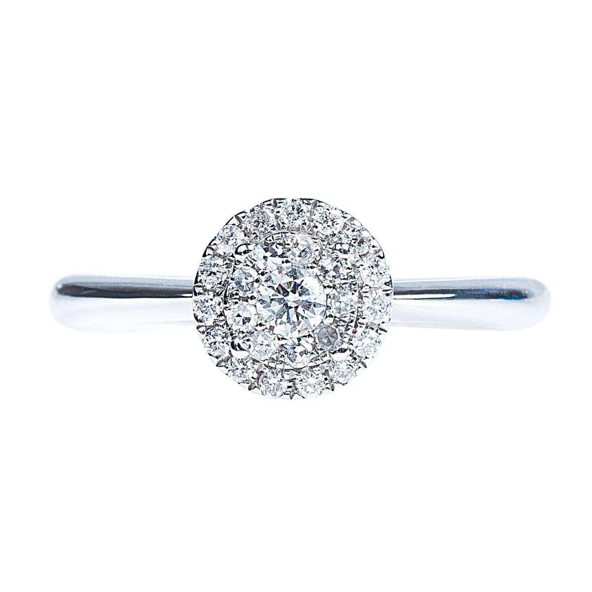 Vintage 0.28 CTW Diamond Engagement Ring