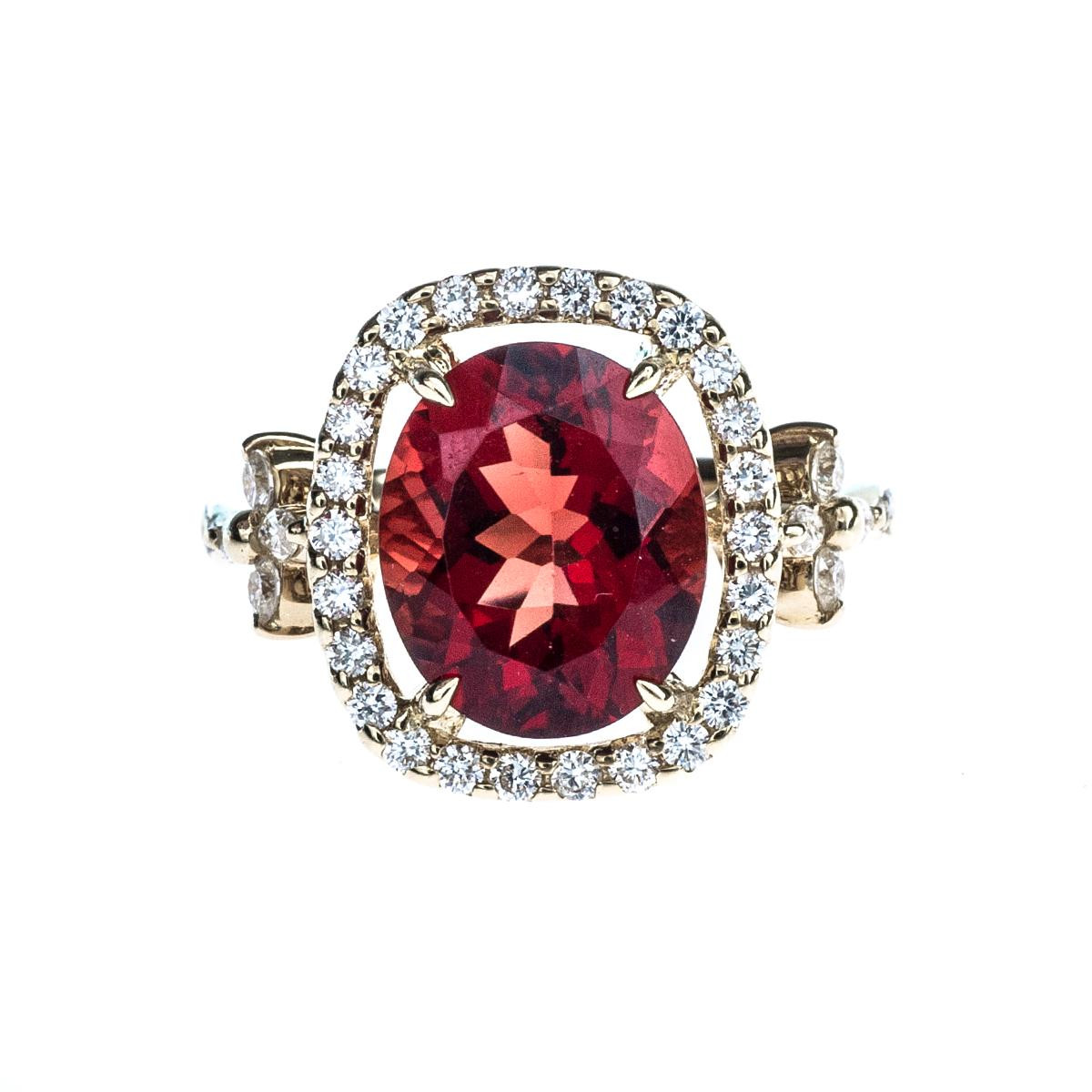 Judy Mayfield 3.46 CT Sunstone Ring