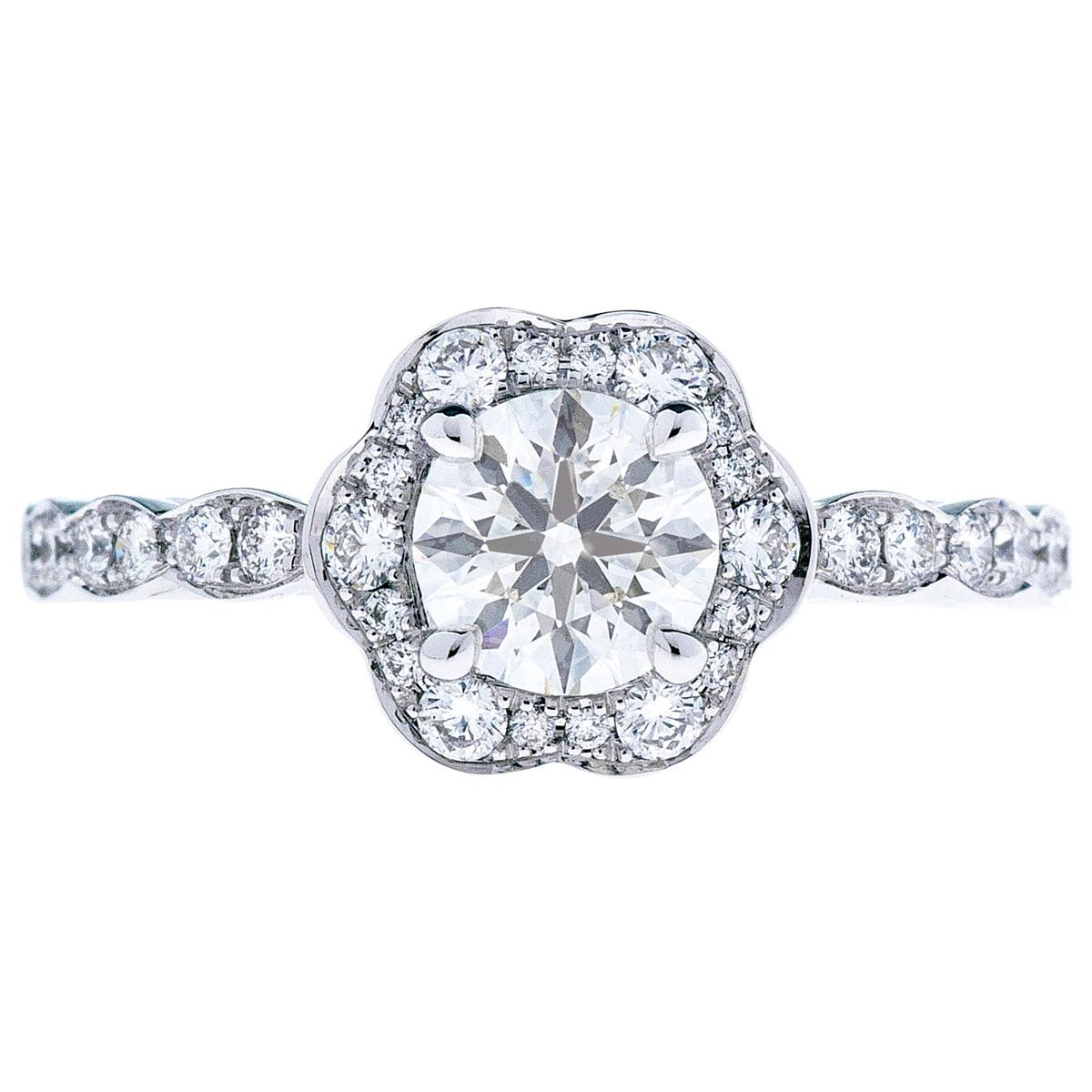 Hearts On Fire® Lorelei 1.02 Ct Diamond Ring