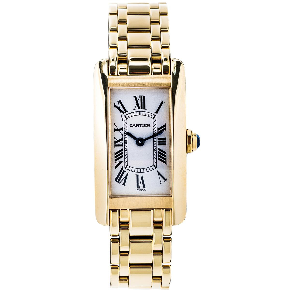 Pre-Owned Cartier Americaine with Roman Dial