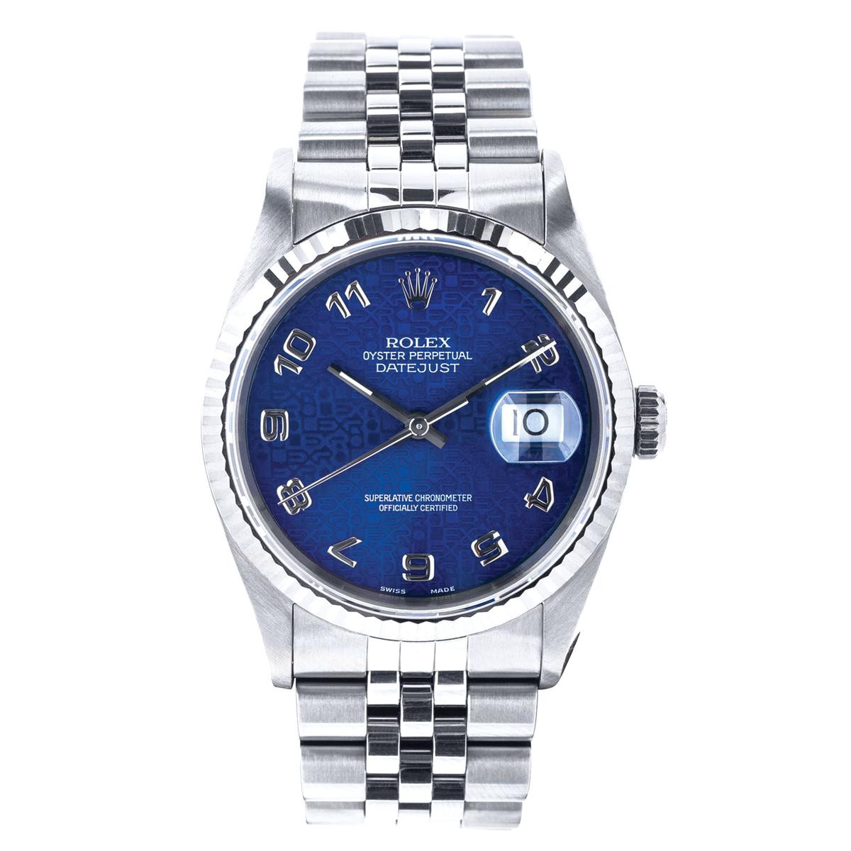 Preowned Rolex Datejust with Hologram Jubilee Dial