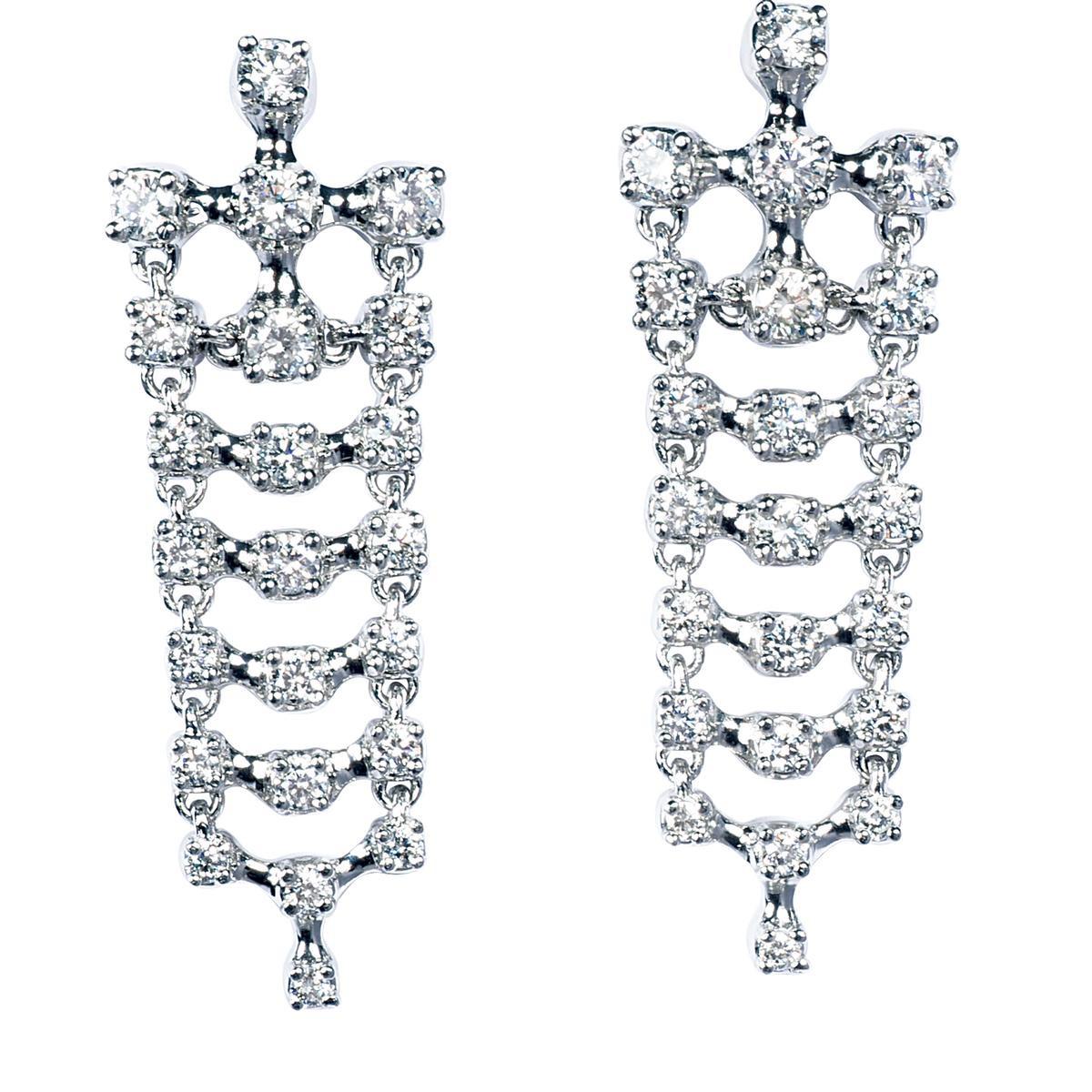 1.69 CTW Diamond Dangle Earrings