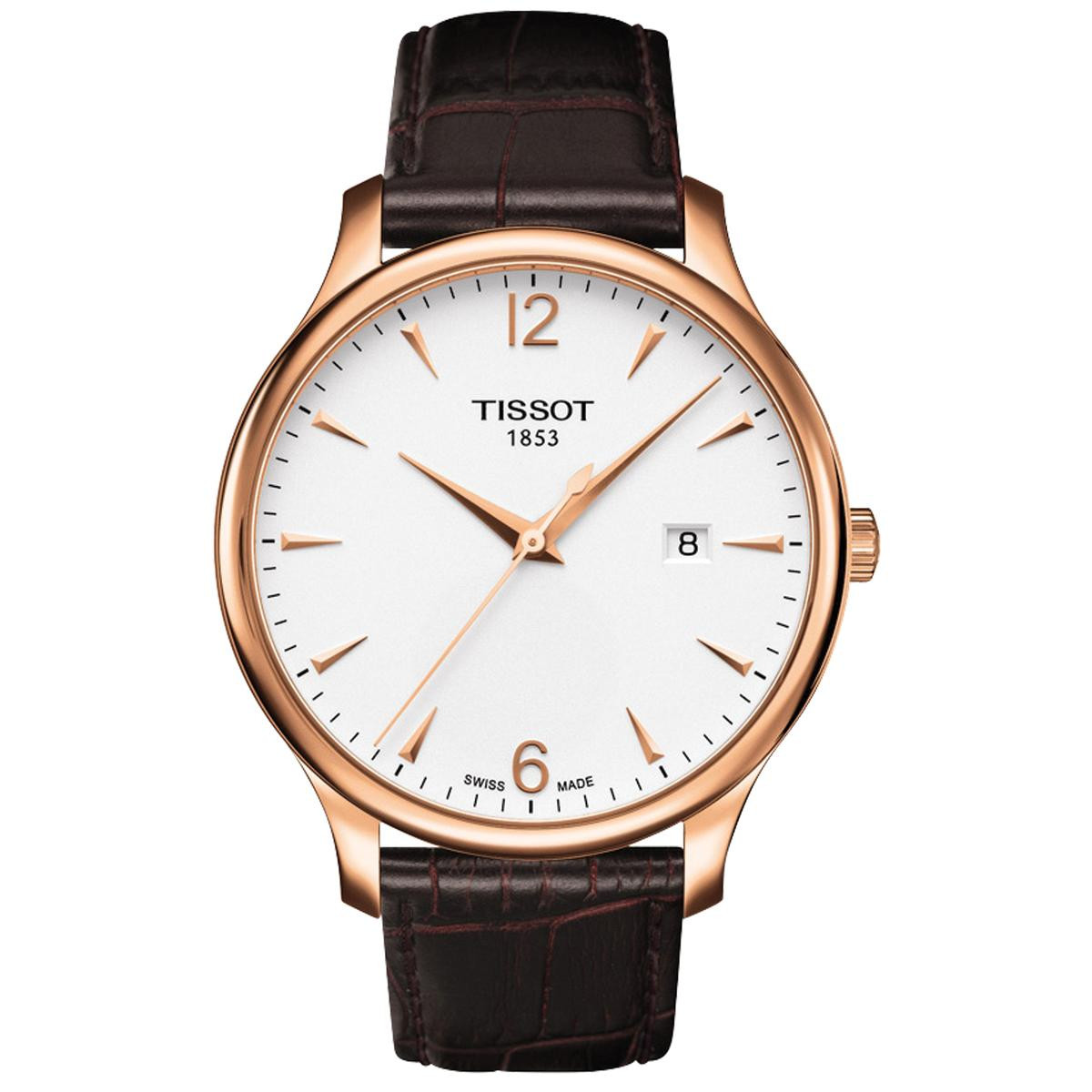 Tissot Tradition with Alligator Strap