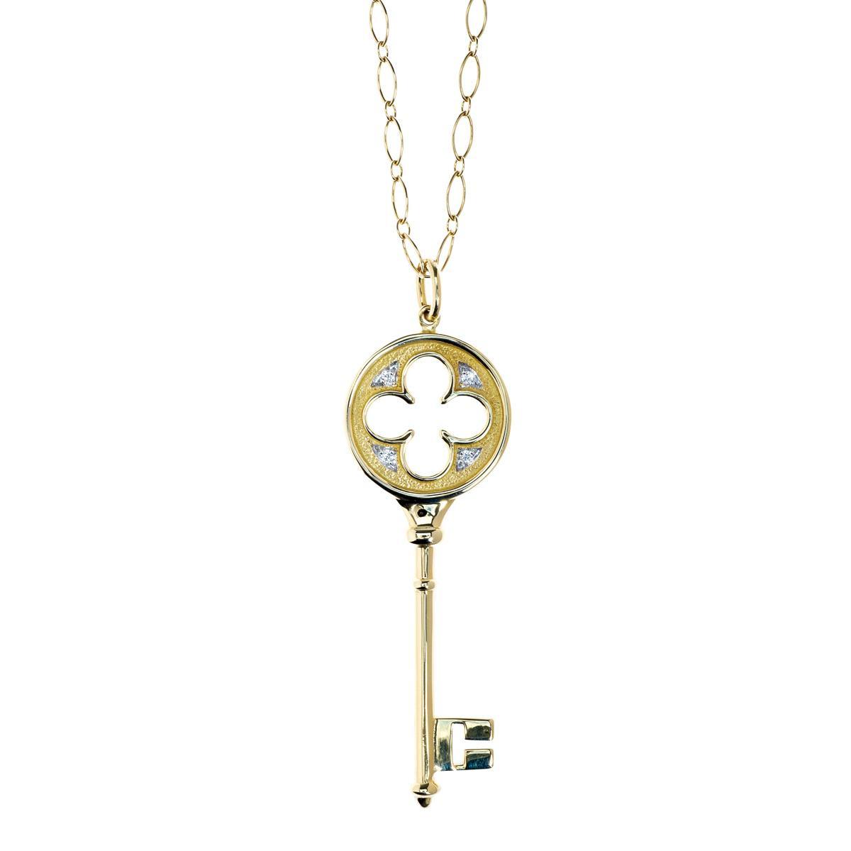 Tiffany And Co Necklace Key