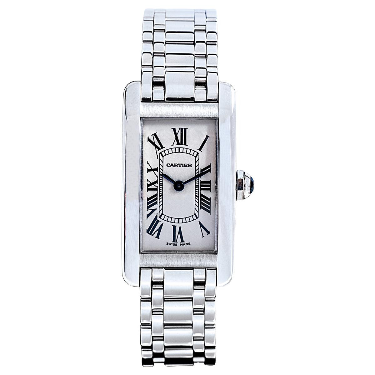 Preowned Cartier Tank Americaine
