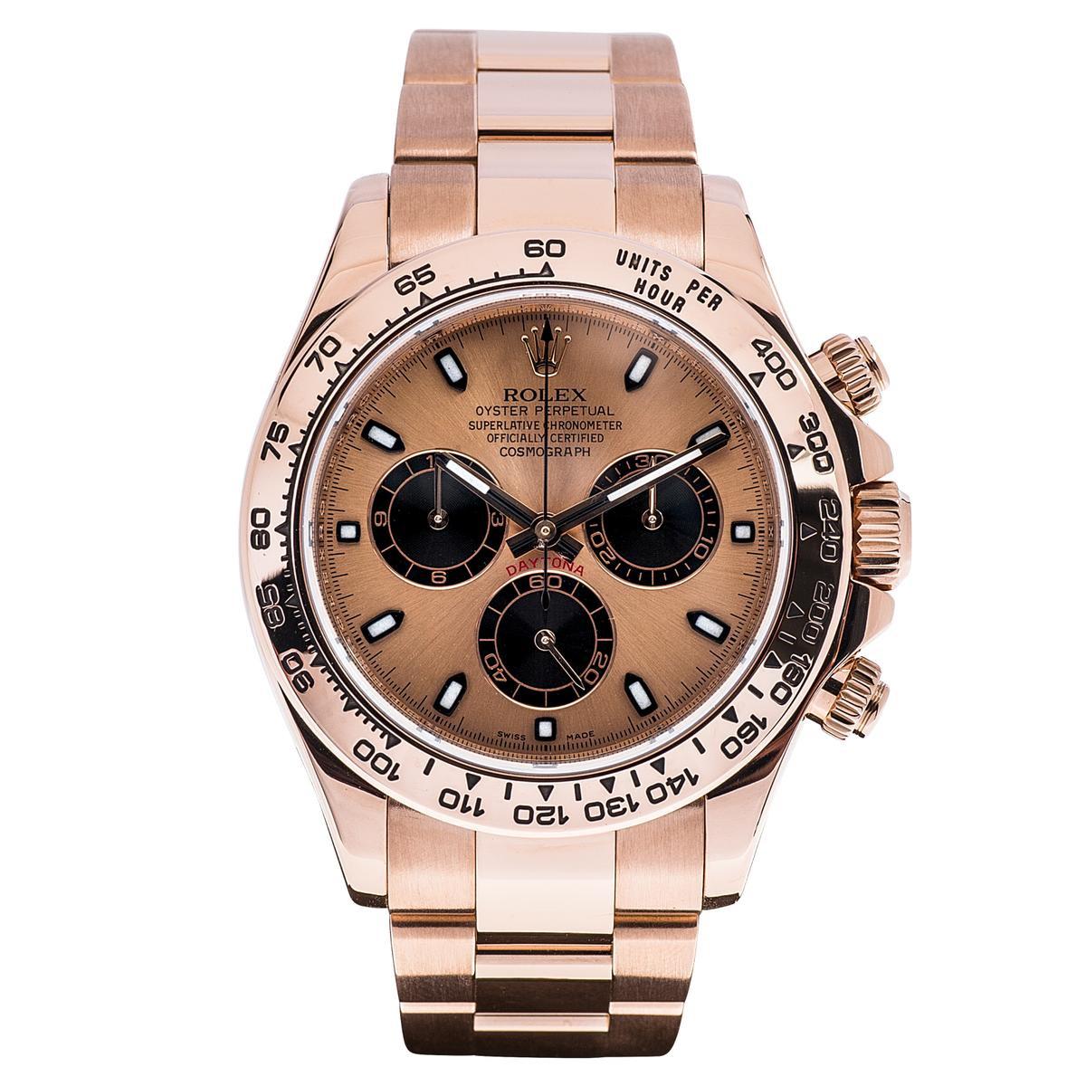 Preowned Rolex Daytona Everose