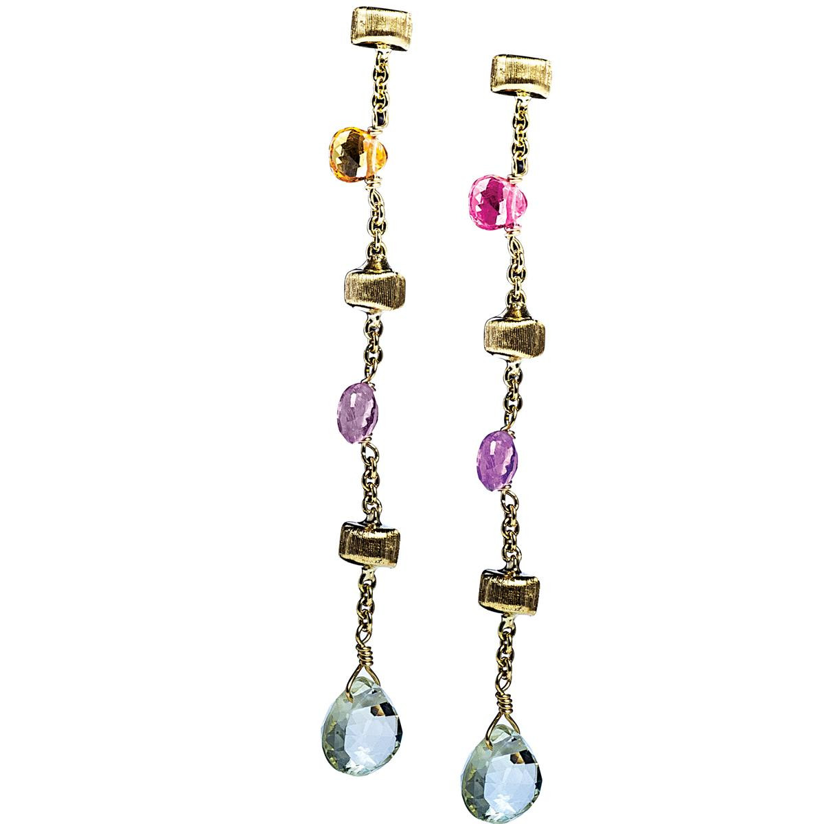 Marco Bicego Mixed Stone Paradise Earrings