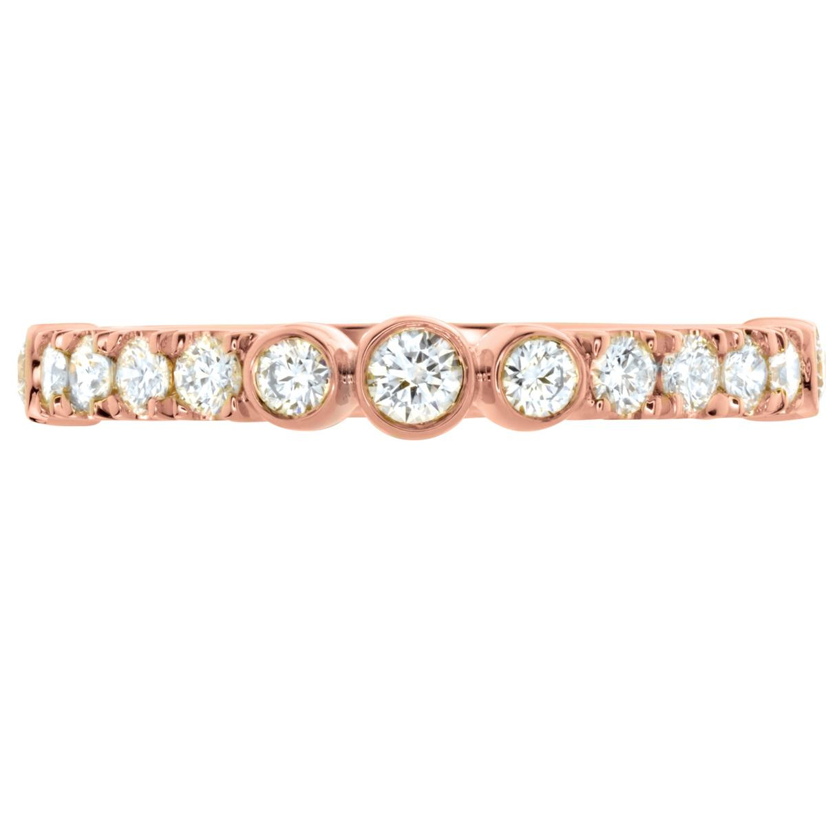 Hearts On Fire® 0.44 CTW Diamond Copley Anniversary Band