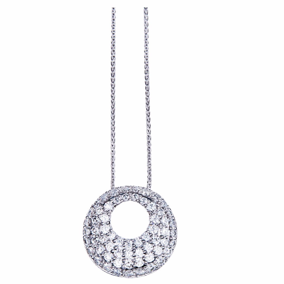 Hearts On Fire® Silk Pave 1.00 CTW Diamond Pendant