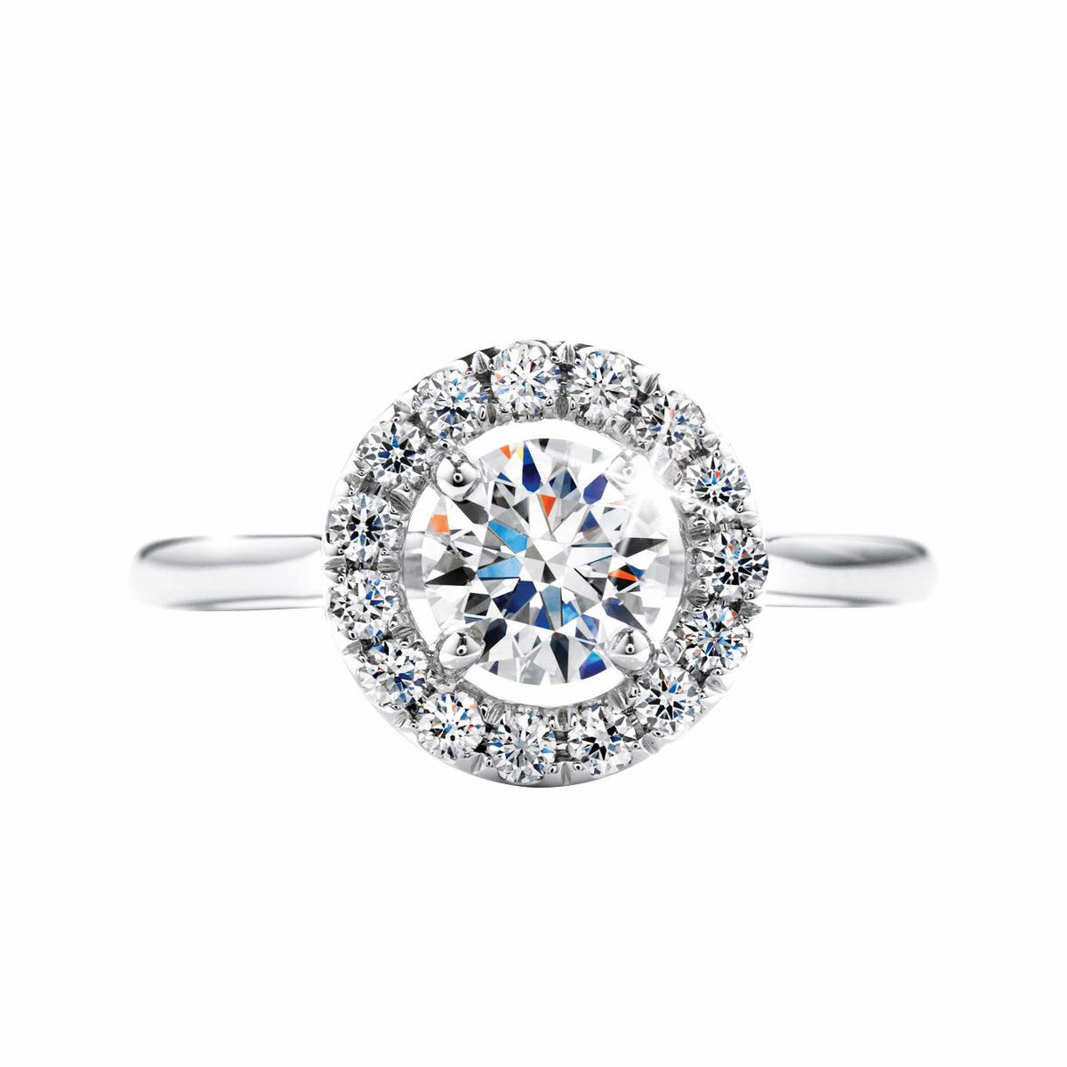 Hearts On Fire® Repertoire 0.527 CTW Diamond Solitaire Engagement Ring