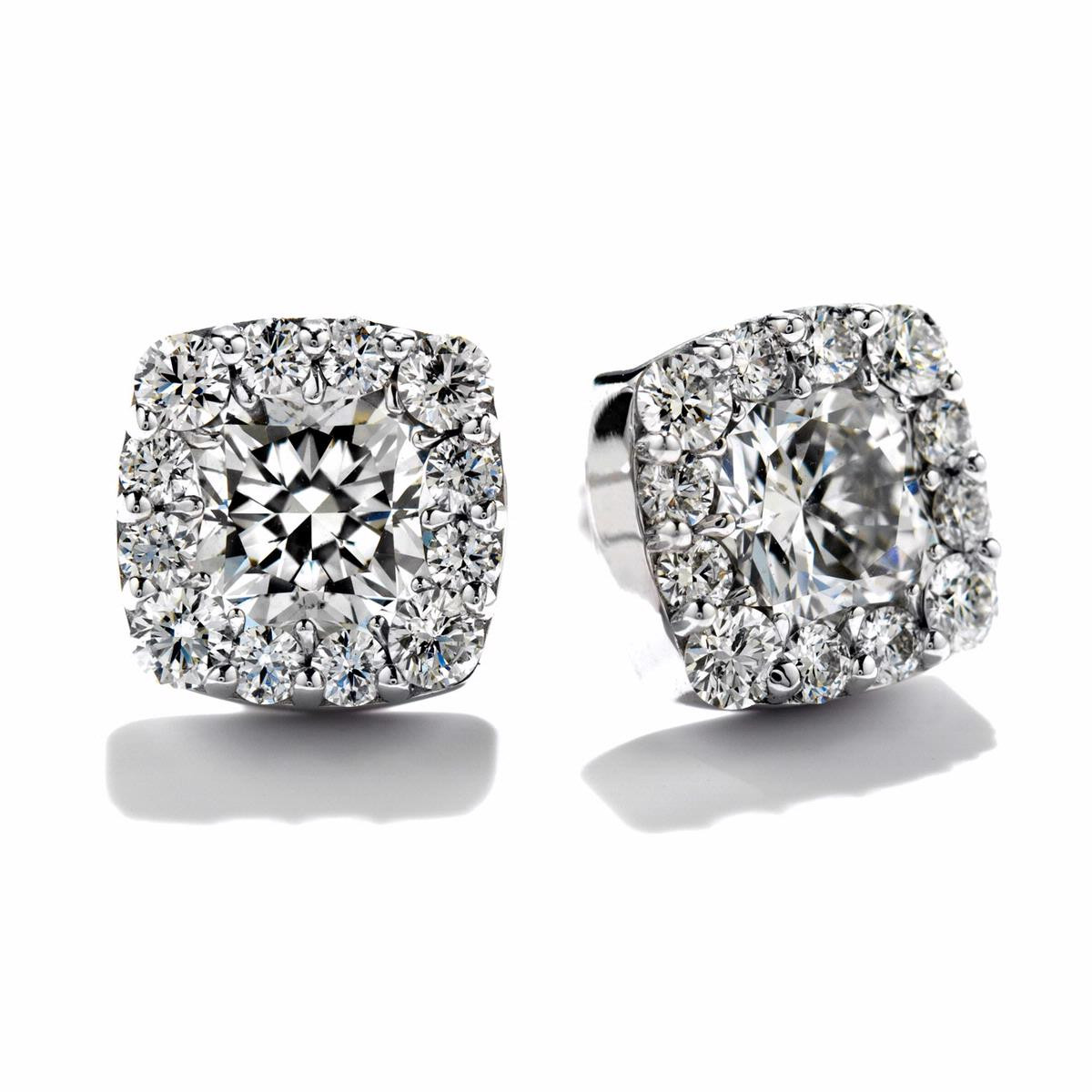 Hearts On Fire® Fulfillment Dream 0.65 CTW Diamond Earrings