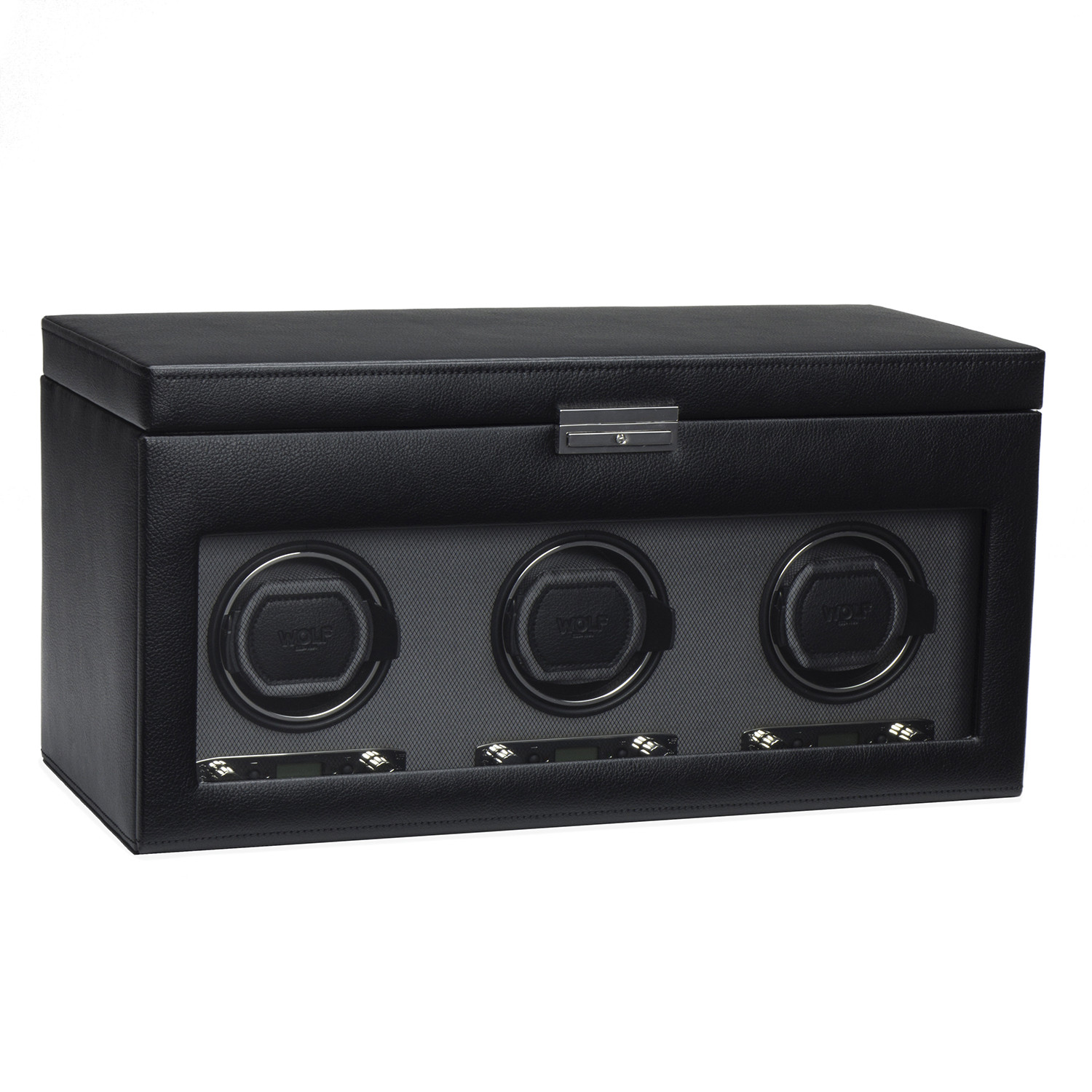 New Wolf Designs Triple Watch Winder