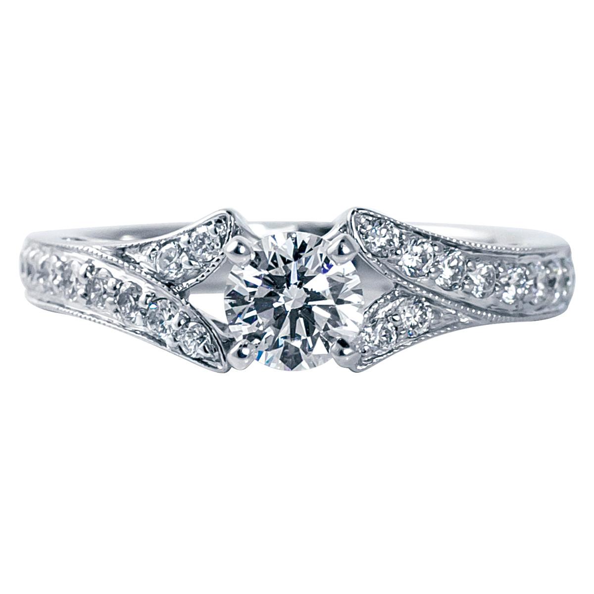 New Venetti 0.89 CTW Diamond Engagement Ring