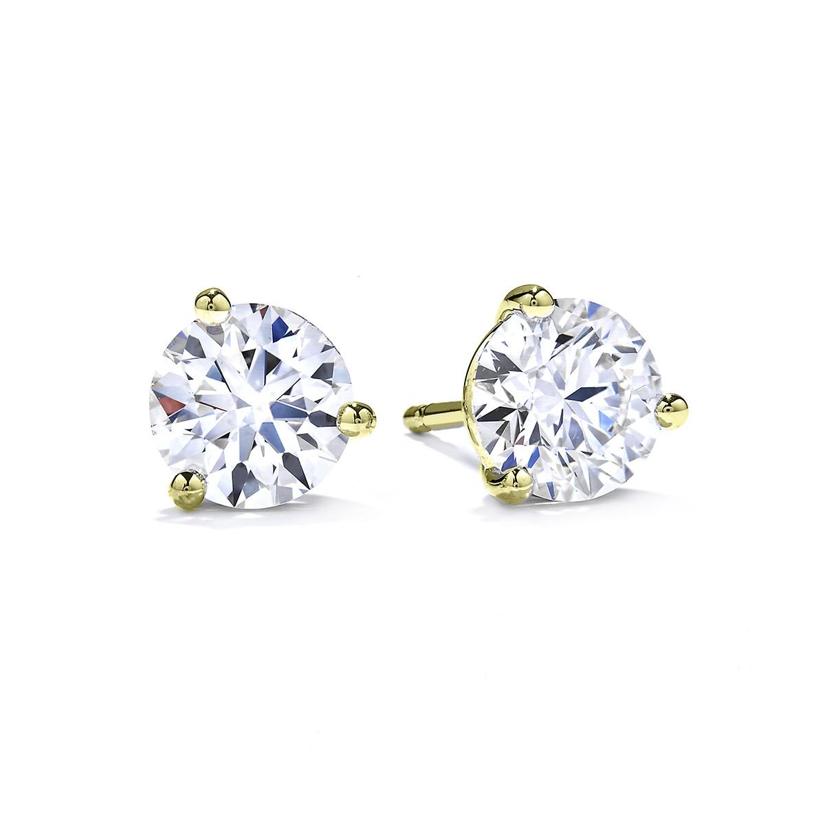 New Hearts On Fire® 0.40 CTW Diamond Stud Earrings