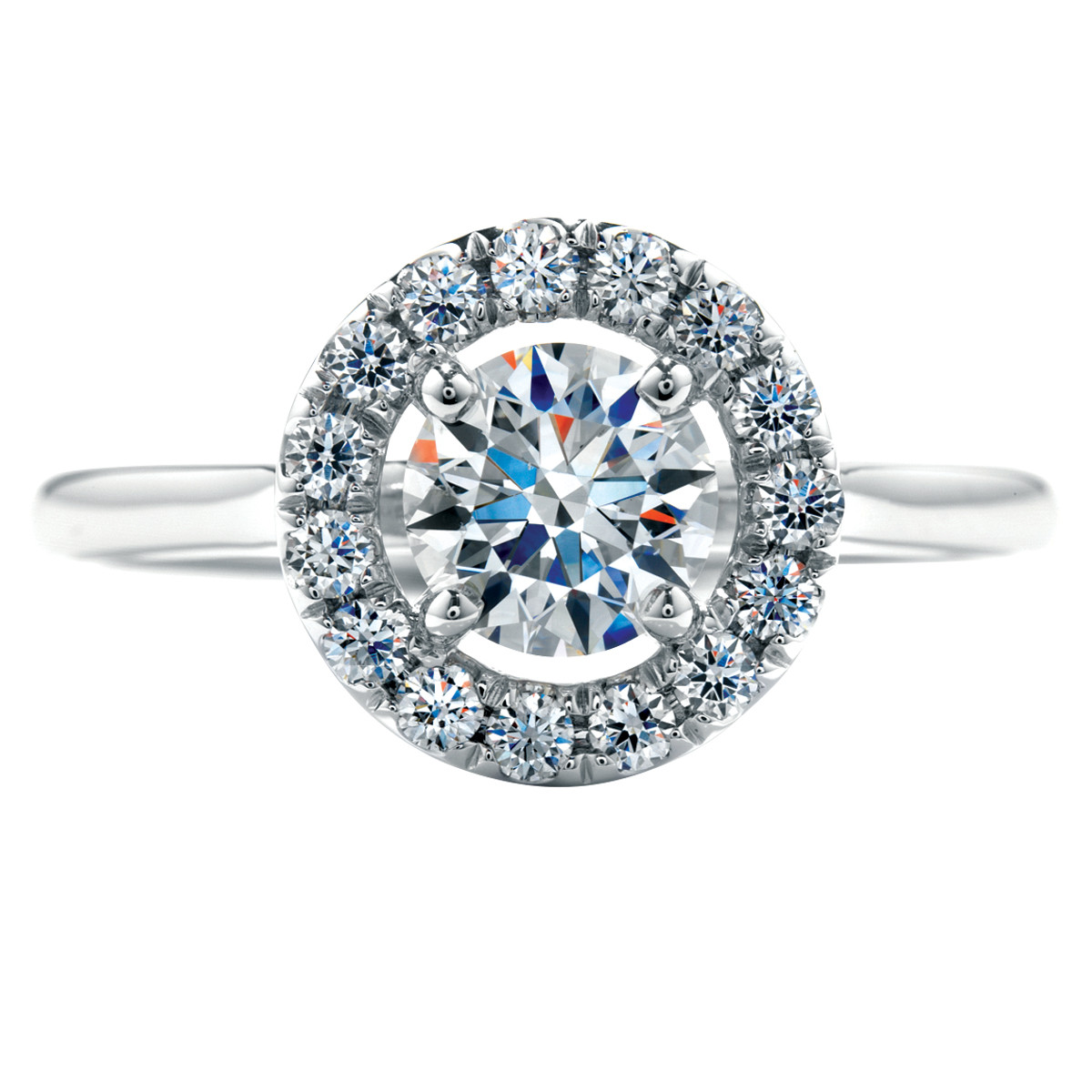 Vintage Hearts On Fire® 0.72 CTW Diamond Repertoire Ring