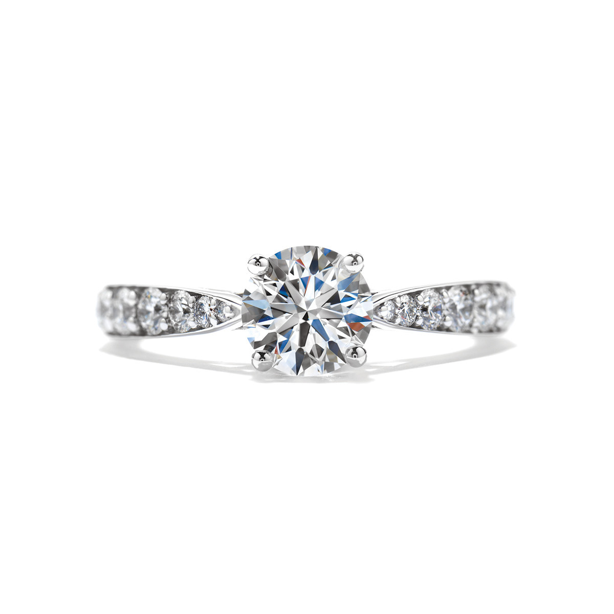 New Hearts On Fire® 0.49 CTW Diamond Truly Bridal Engagement Ring Setting