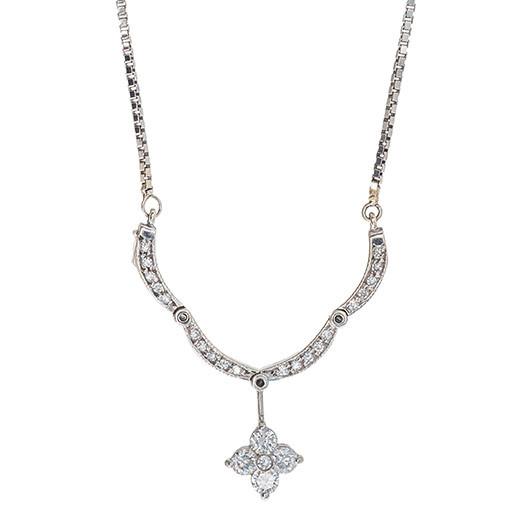 Vintage 0.55 CTW Diamond Necklace