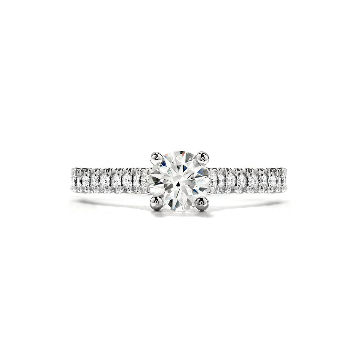 New Hearts On Fire® Diamond Enticement Engagement Ring