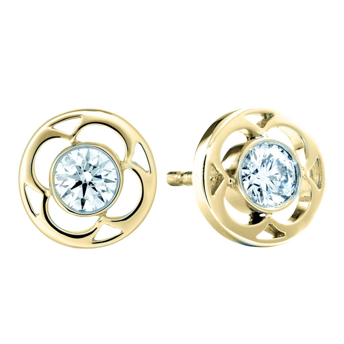 New Hearts On Fire® Diamond Copley Stud Earrings