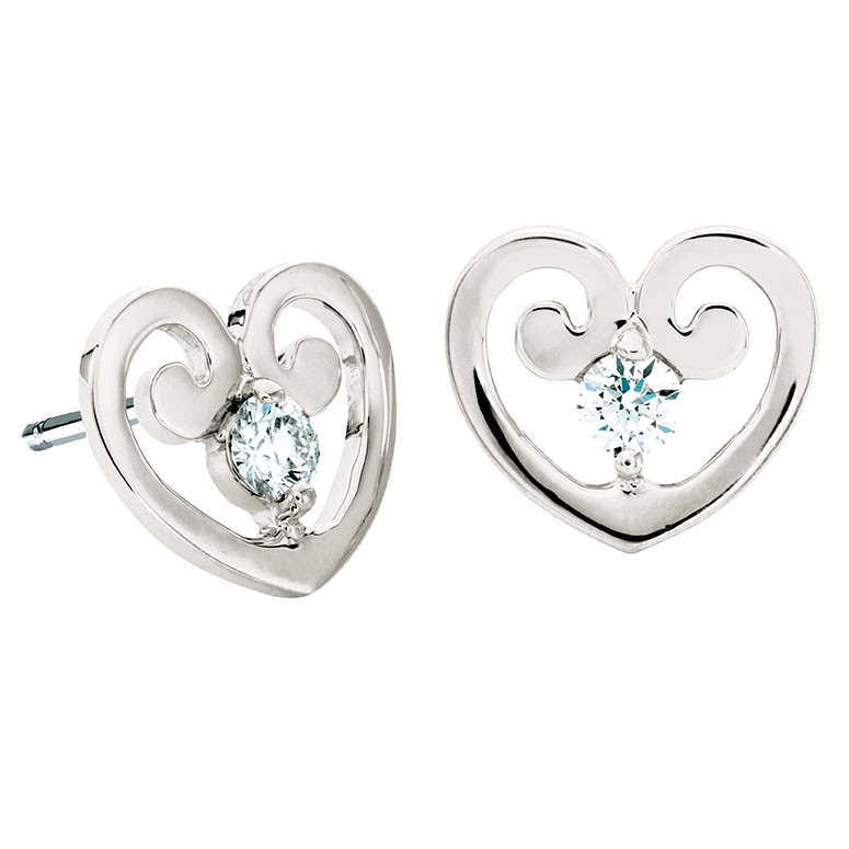 Hearts On Fire® Copley Heart Stud Earrings
