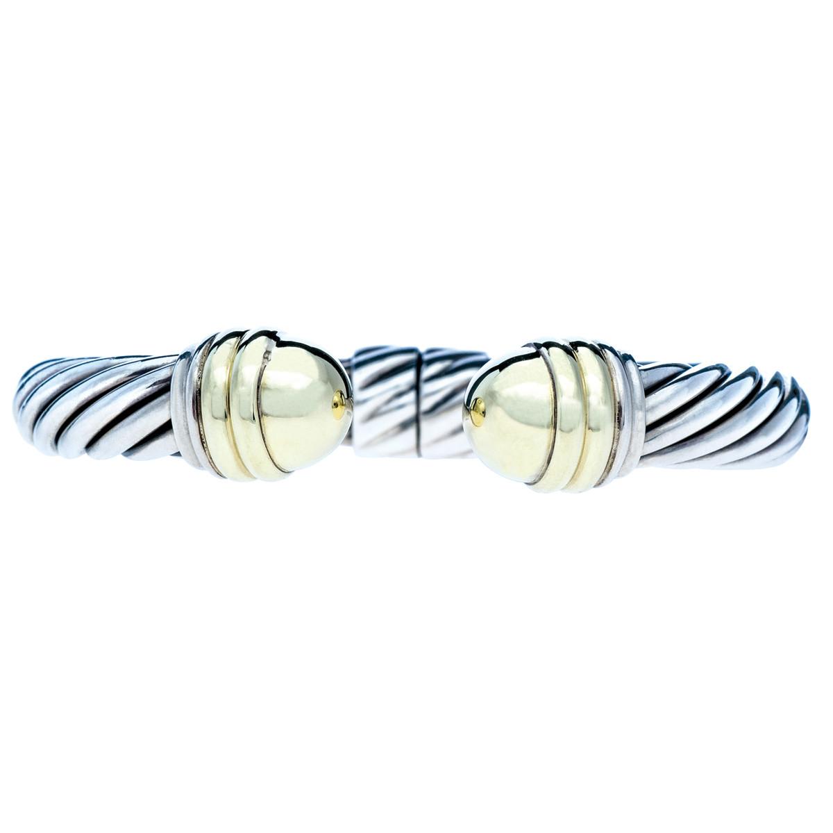 Vintage David Yurman Sterling Silver Cuff Bracelet