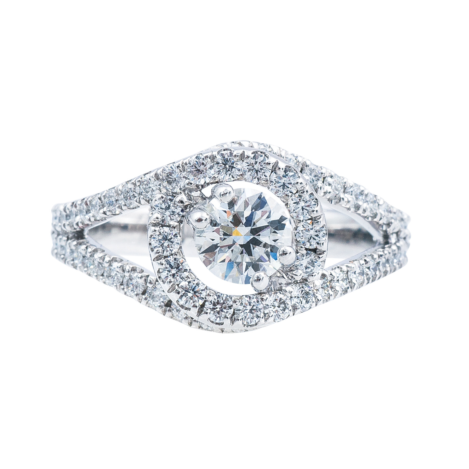 New Hearts On Fire® 1.12 CTW Diamond Endeavor Engagement Ring