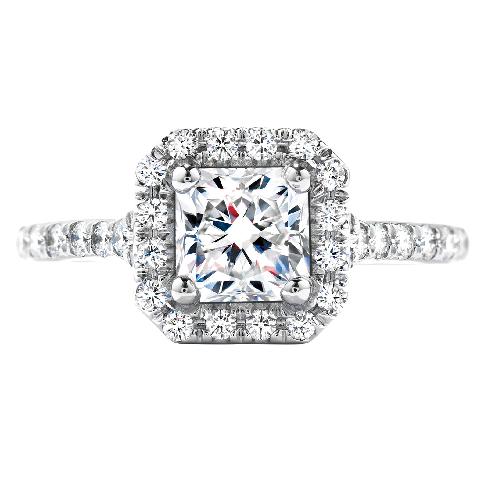 New Hearts On Fire® 1.15 CTW Dream Diamond Transcend Engagement Ring