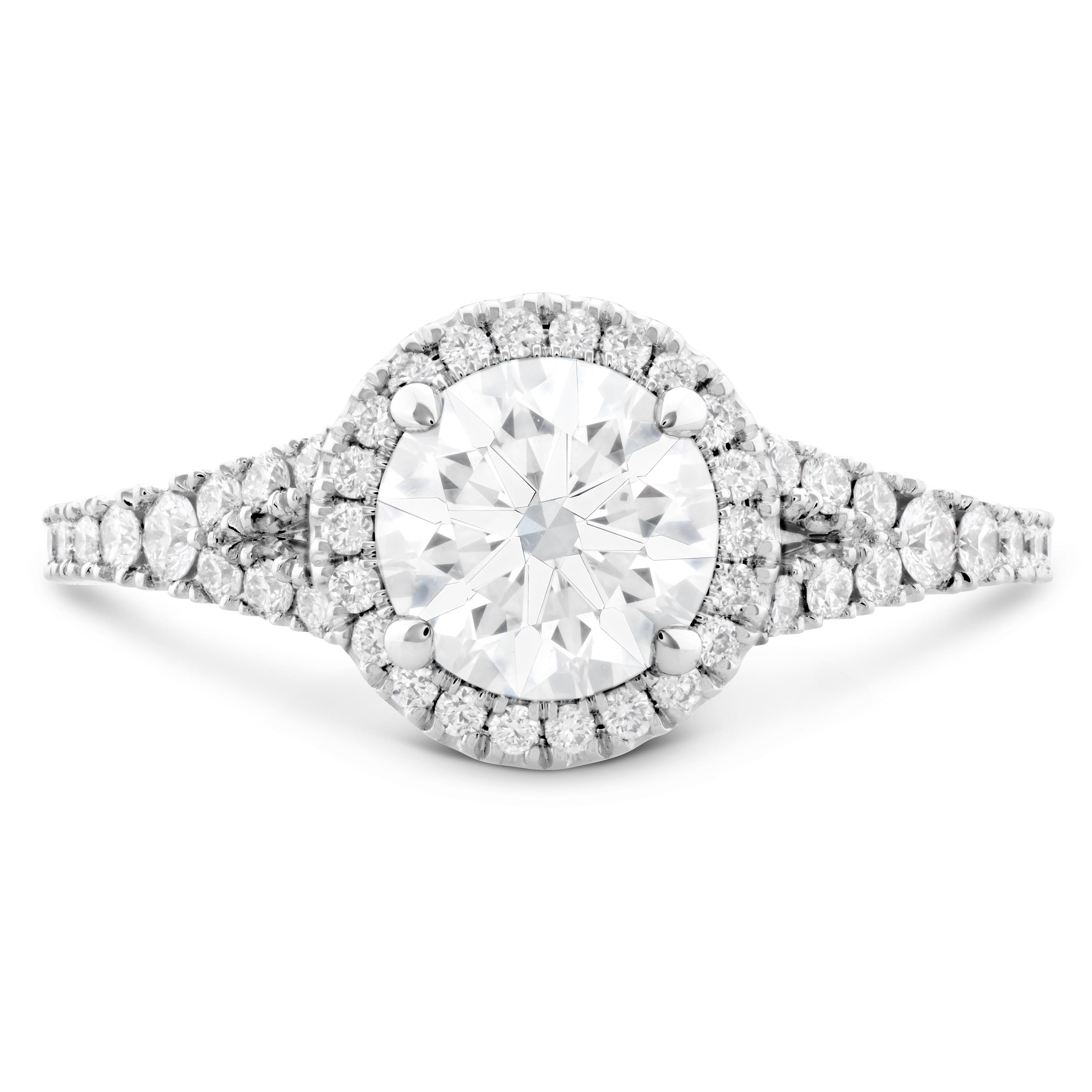 New Hearts On Fire® 0.86 CTW Transcend Diamond Engagement Ring