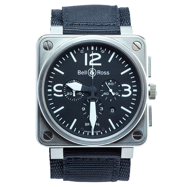 Preowned man's Bell & Ross BR01-94.