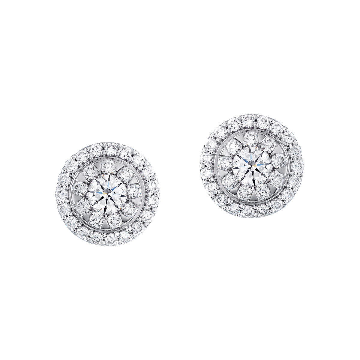 New Mémoire 0.62 CTW Diamond Bouquet Stud Earrings