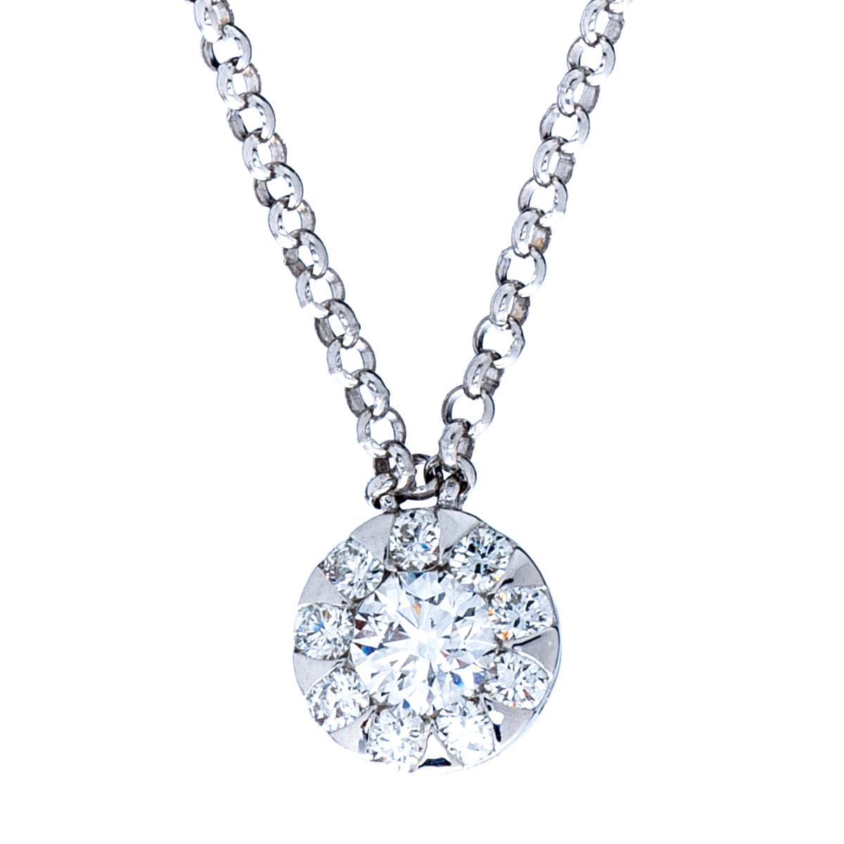 New Mémoire® 0.33 CTW Diamond Bouquet Necklace