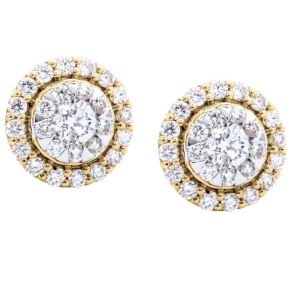 Mémoire® 0.62 CTW Diamond Bouquet Earrings