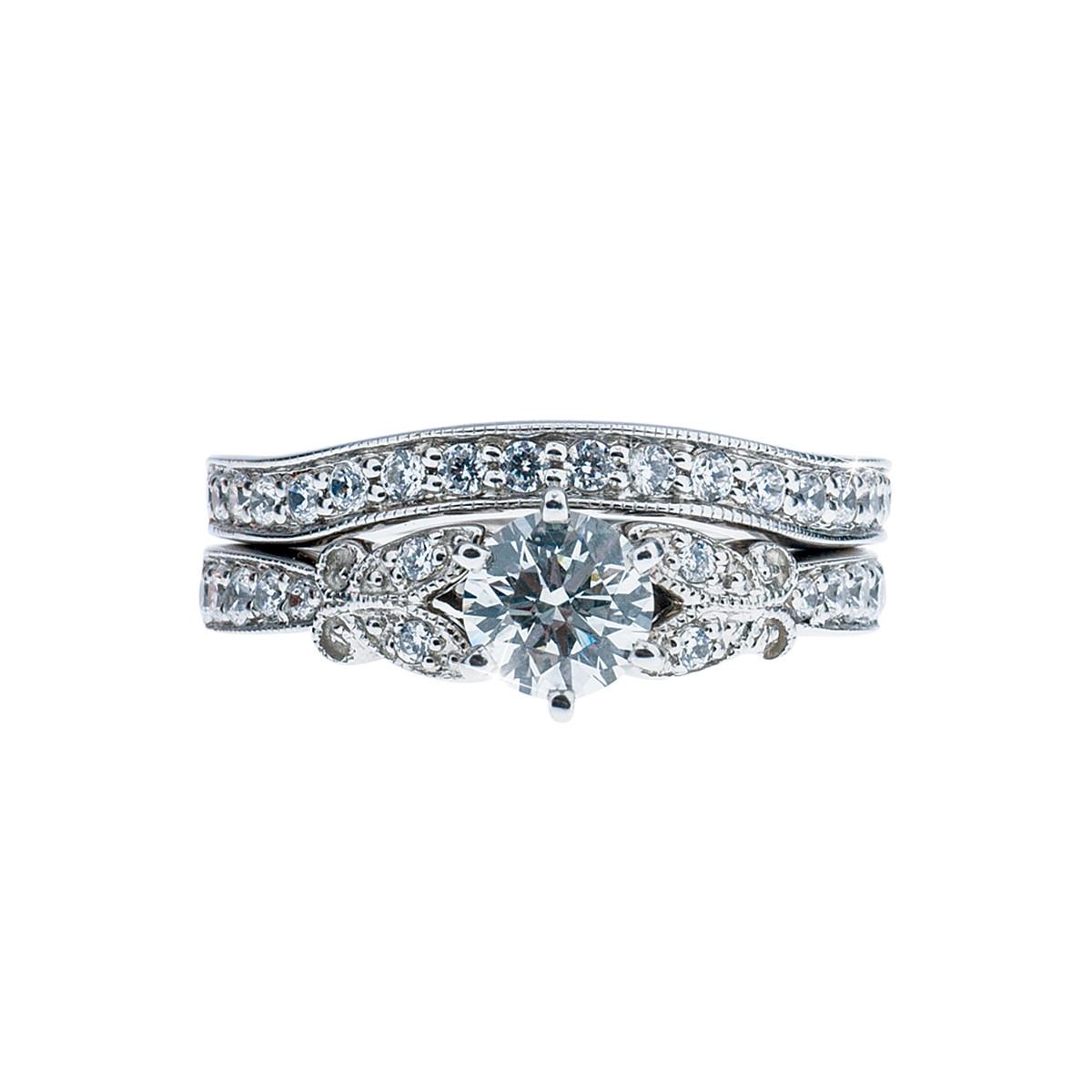 Vintage 1.27 CTW Diamond Engagement Ring