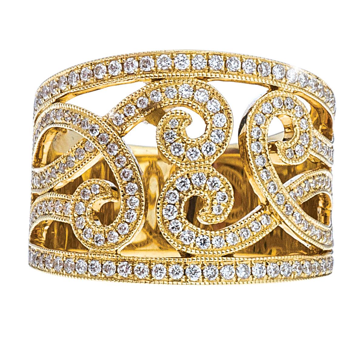 Venetti 0.72 CTW Diamond Ring