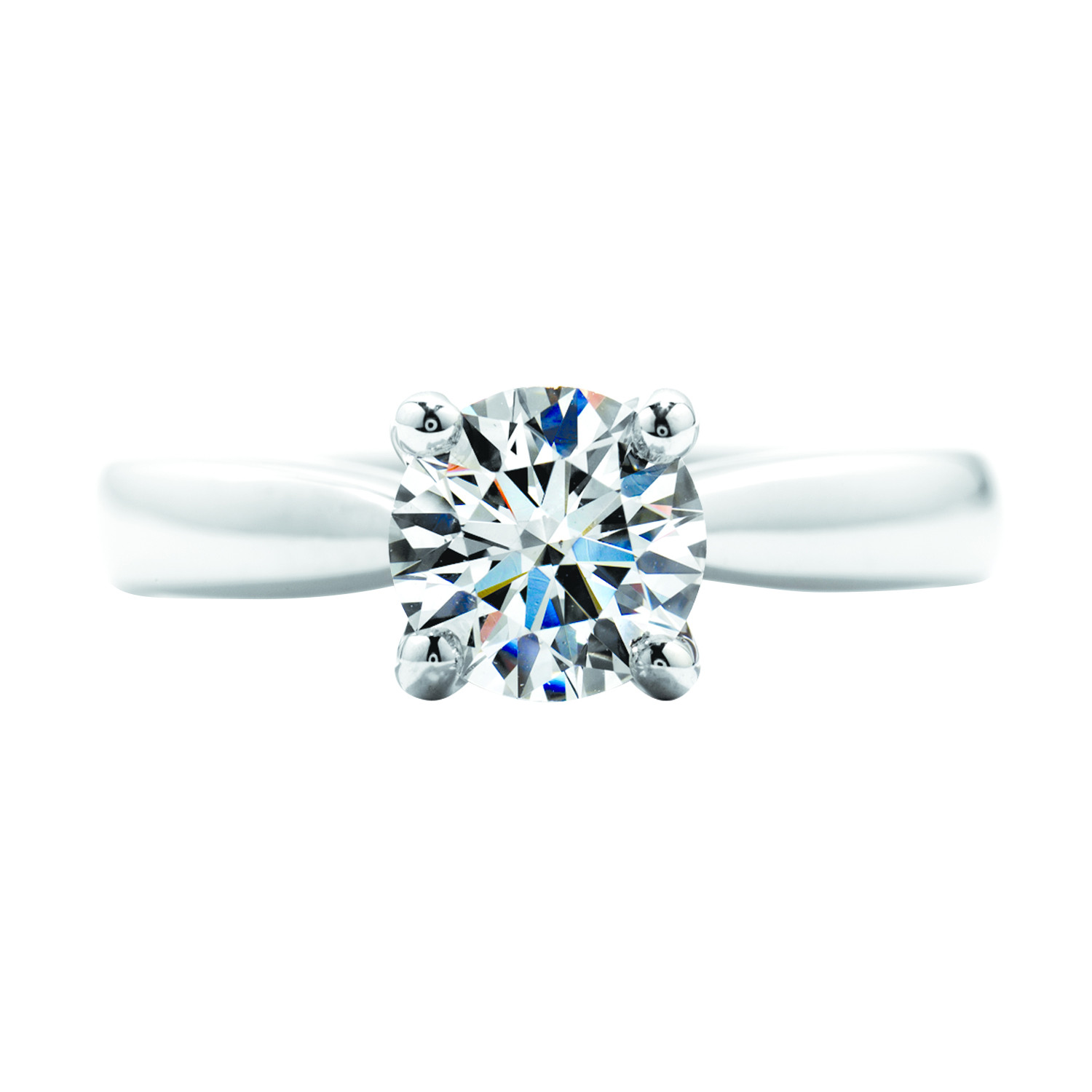 New Hearts On Fire® 1.59 CT Diamond Serenity Solitaire Engagement Ring