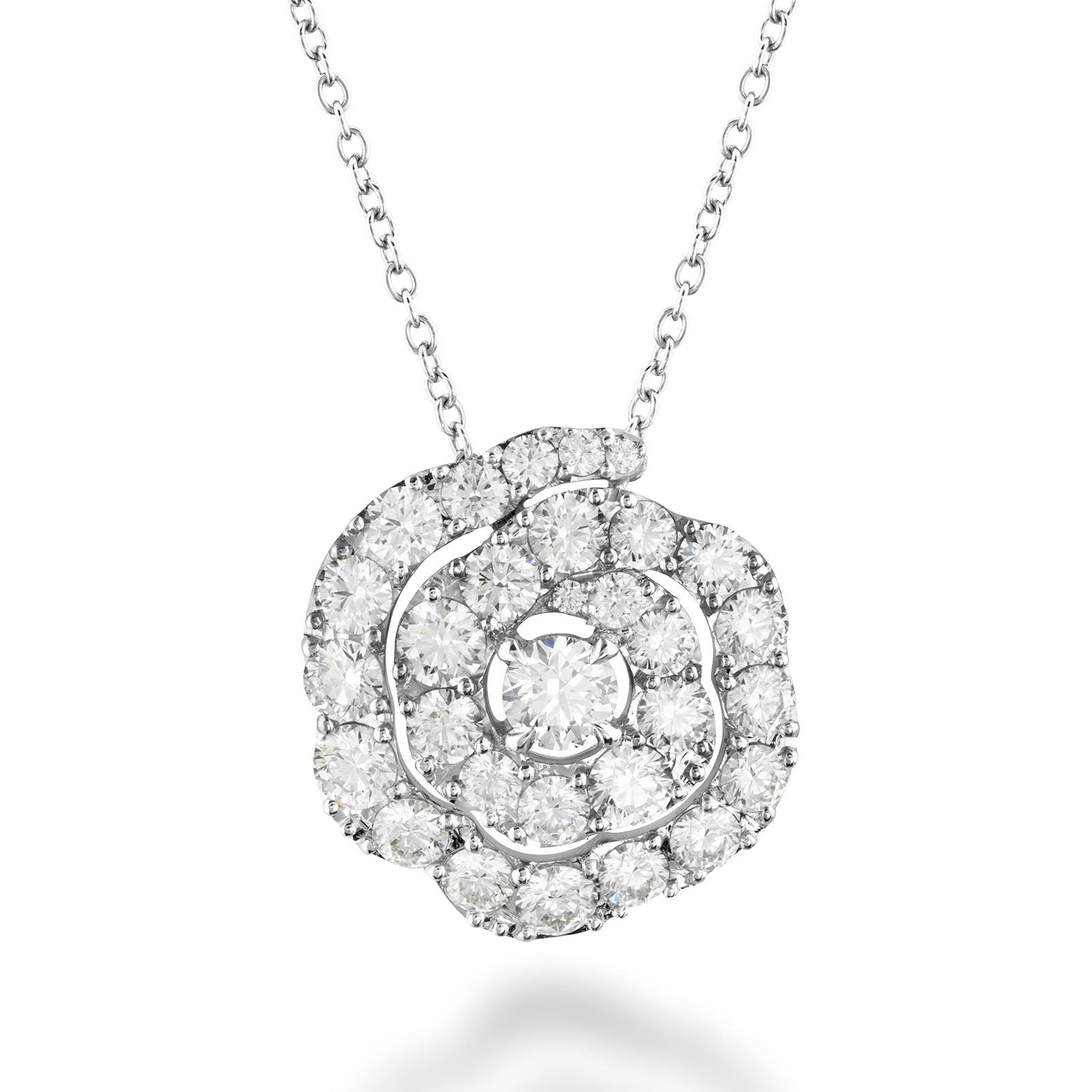 New Hearts On Fire® 1.00 CTW Diamond Lorelei Floral Pendant