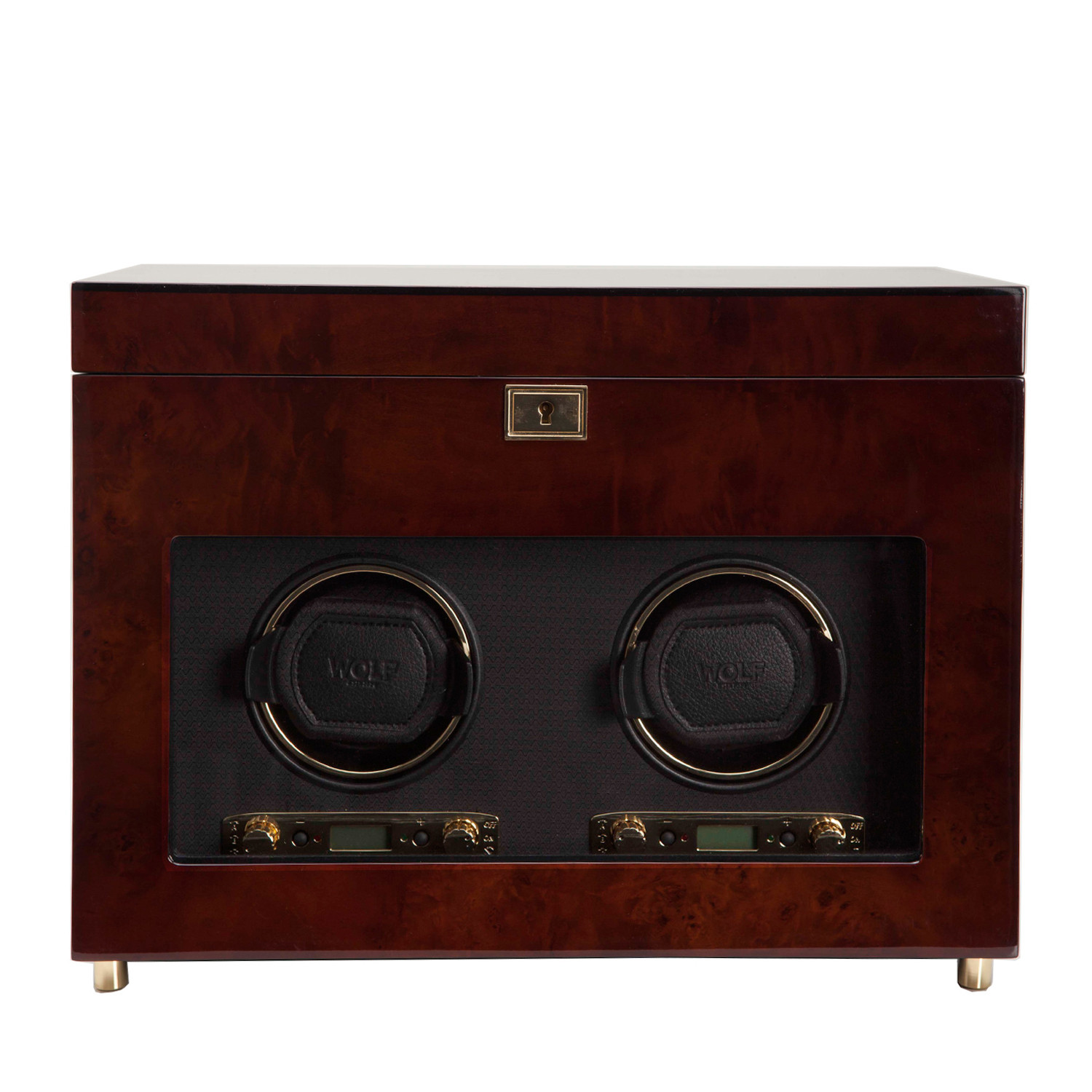 New Wolf Designs Savoy Double Watch Winder