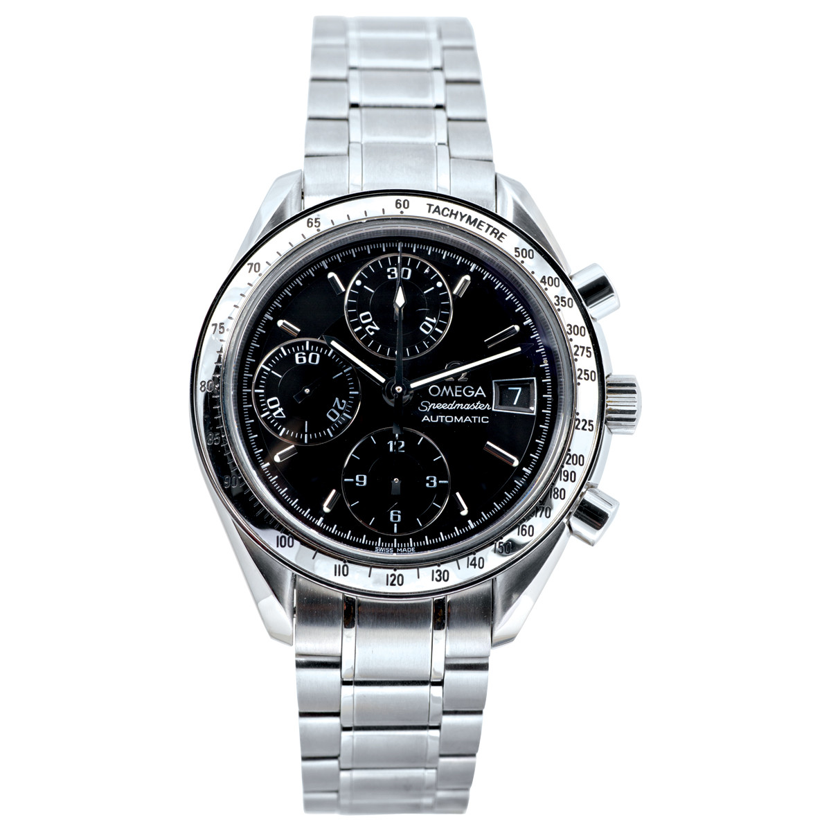 Preowned Omega Speedmaster Tachymetre