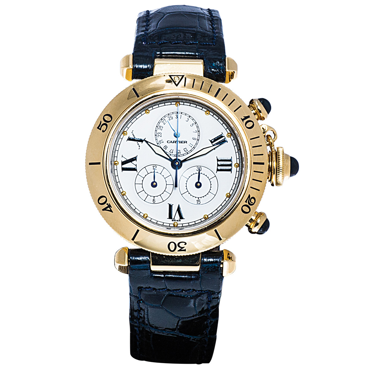 Pre-Owned Cartier Pasha Chronograph