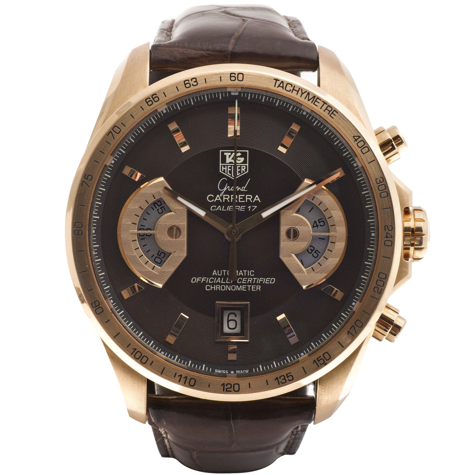 Preowned Tag Heuer Grand Carrera Calibre Watch