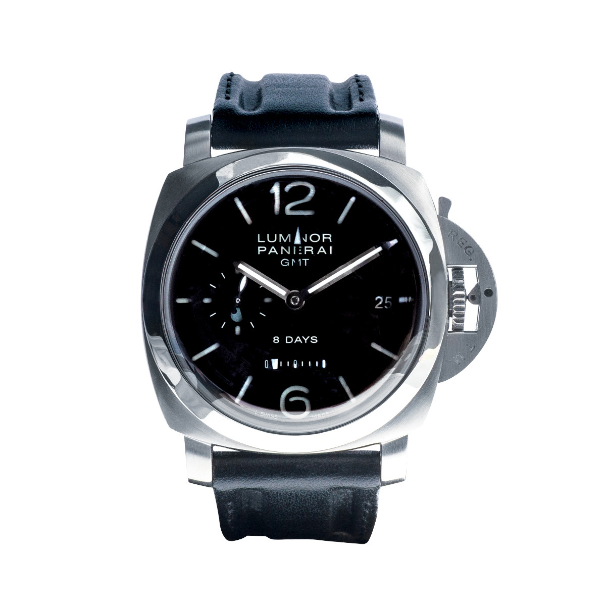 Pre-Owned Panerai PAM233 GMT 8 Day
