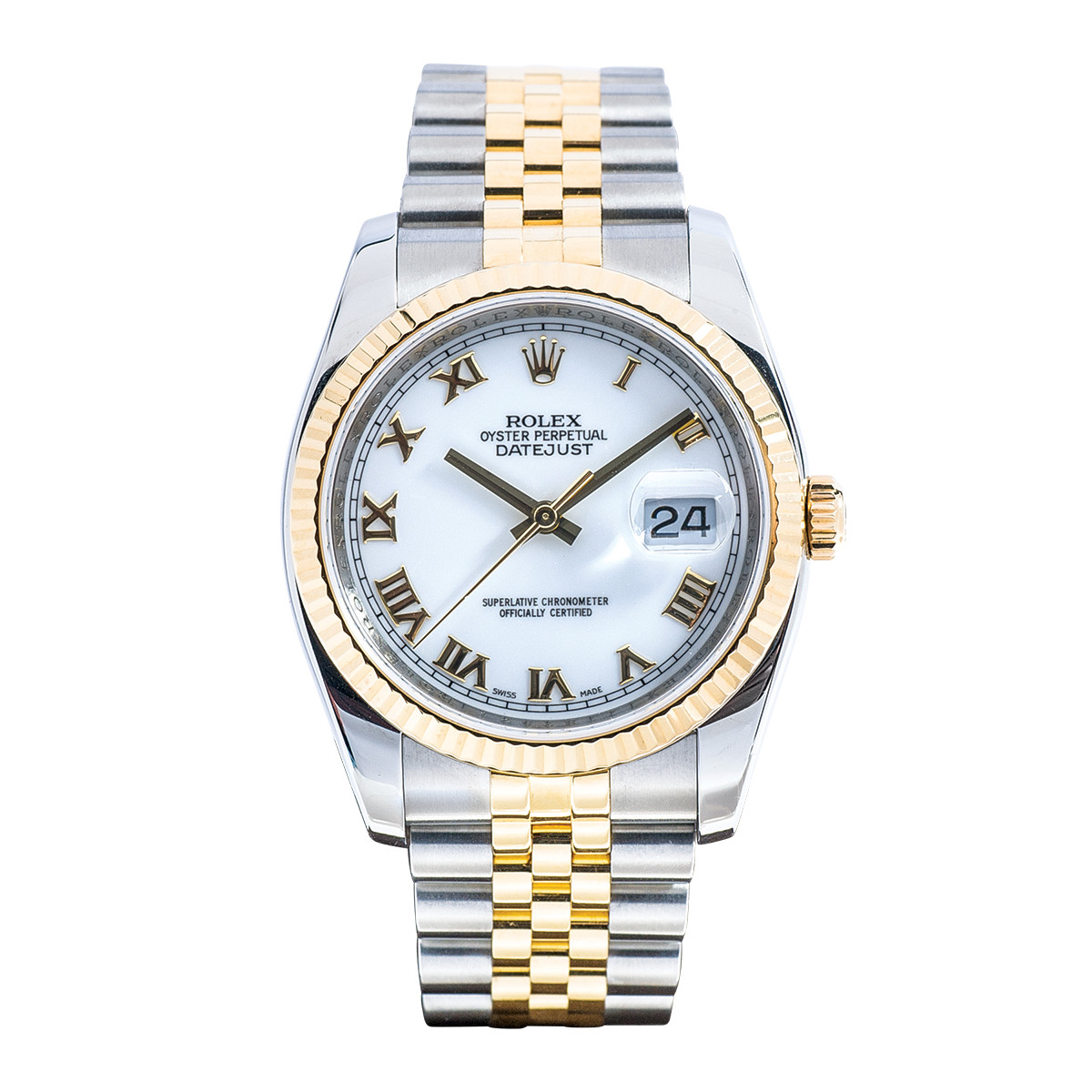 Preowned 18k Gold Rolex GTS Datejust