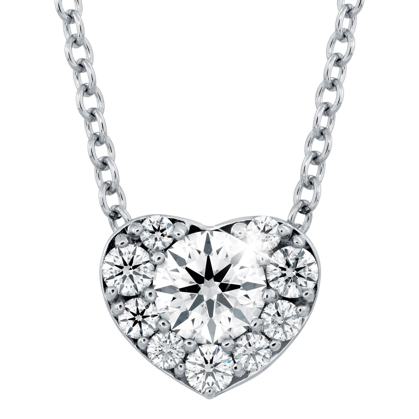 Hearts On Fire® Fulfillment 0.43 CTW Diamond Heart Pendant