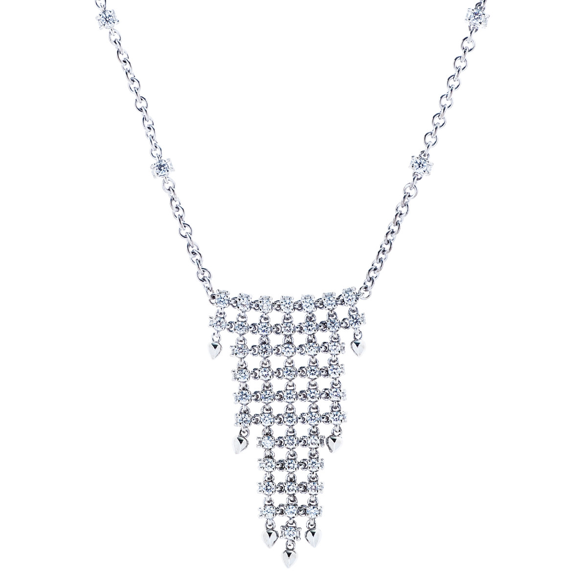 Vintage 1.90 CTW Diamond Necklace