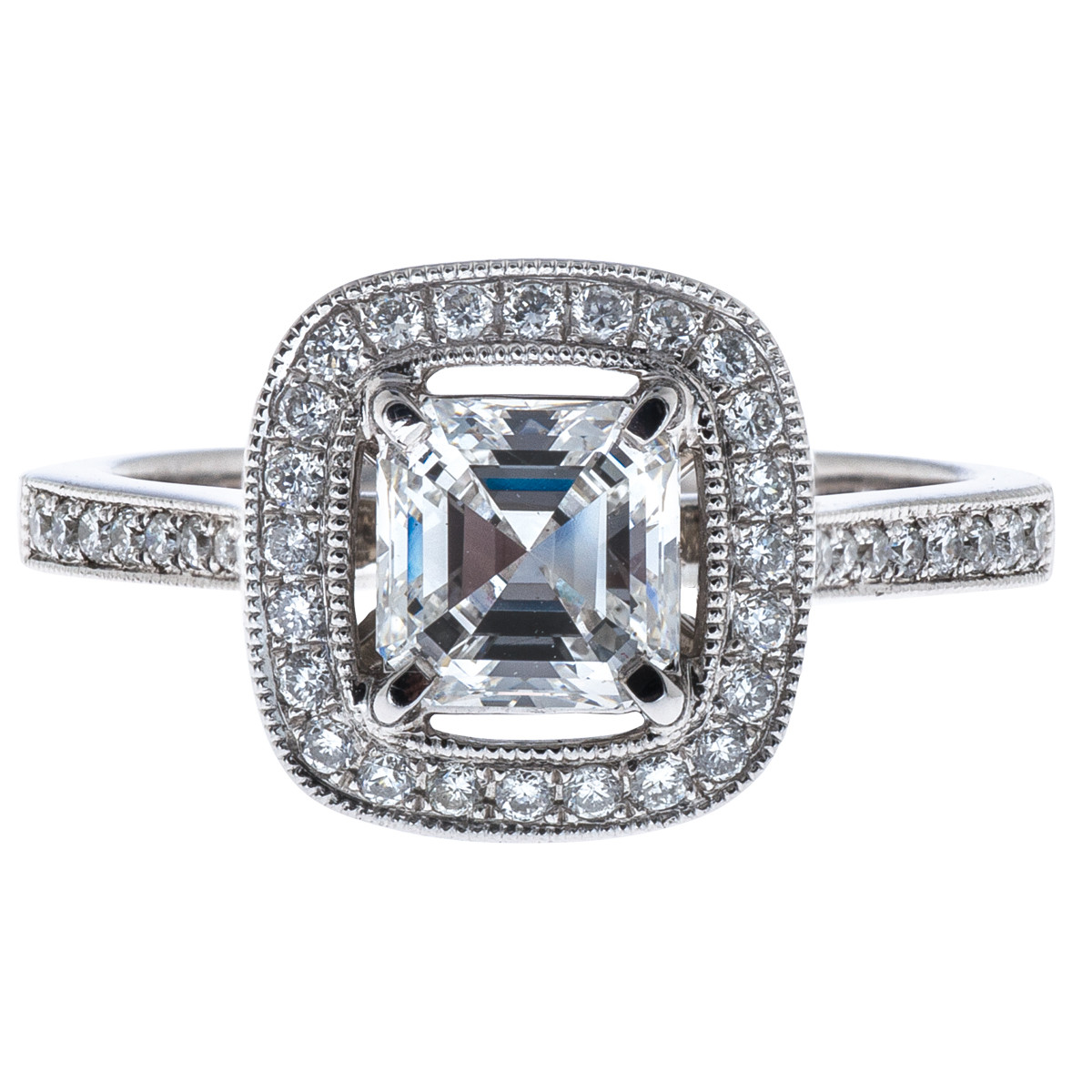 1.35 CTW Venetti Diamond Engagement Ring