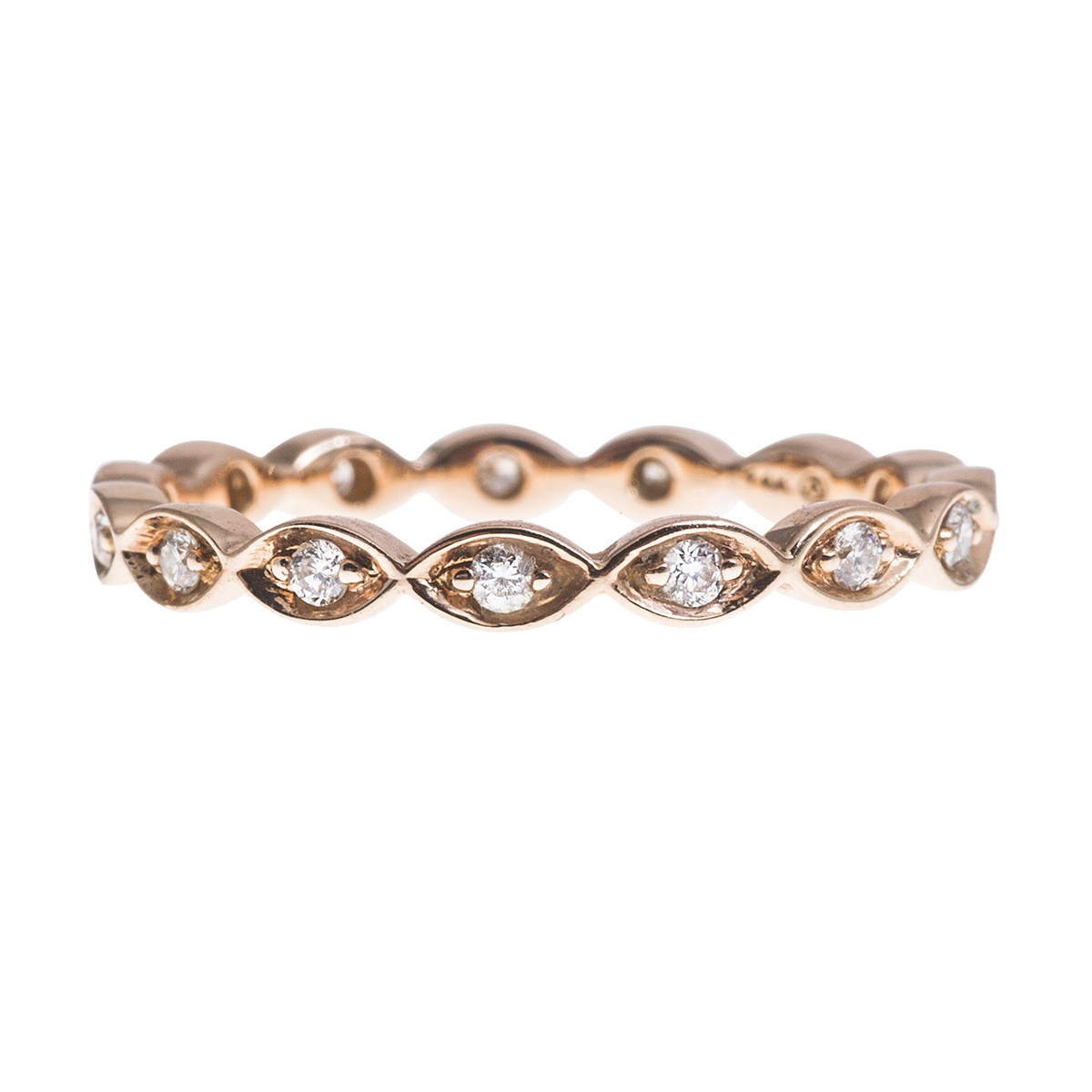 New Oro Alexander 0.20 CTW Diamond Eternity Band