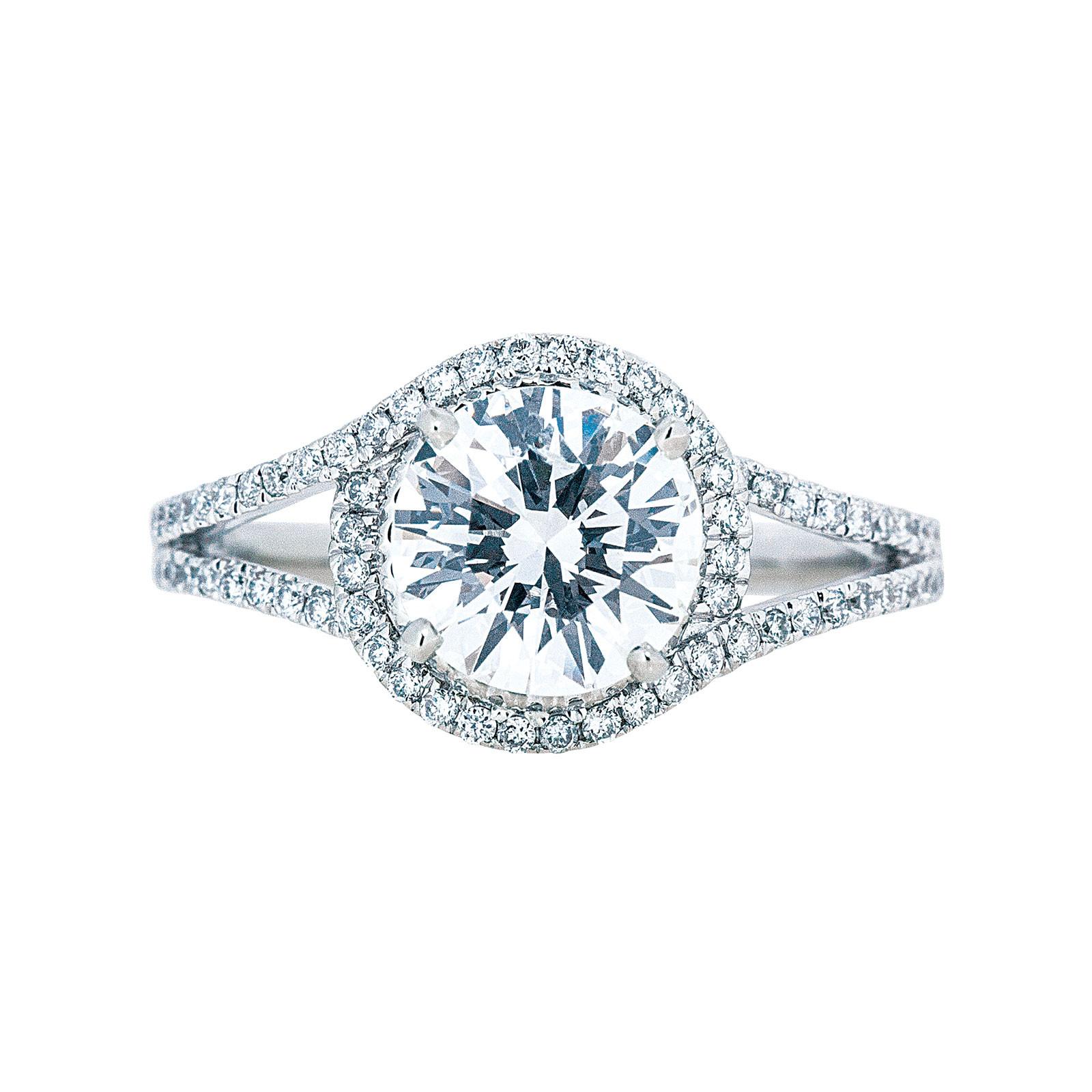 New Venetti 1.97 CTW Diamond Engagement Ring