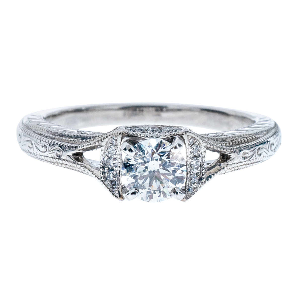 Vintage Neil Lane 0.66 CTW Diamond Engagement Ring