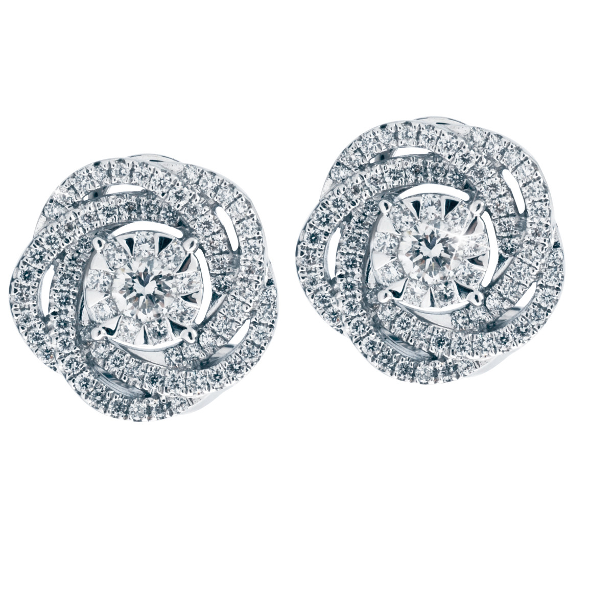 New Mémoire® 0.66 CTW Diamond Bouquet Earrings