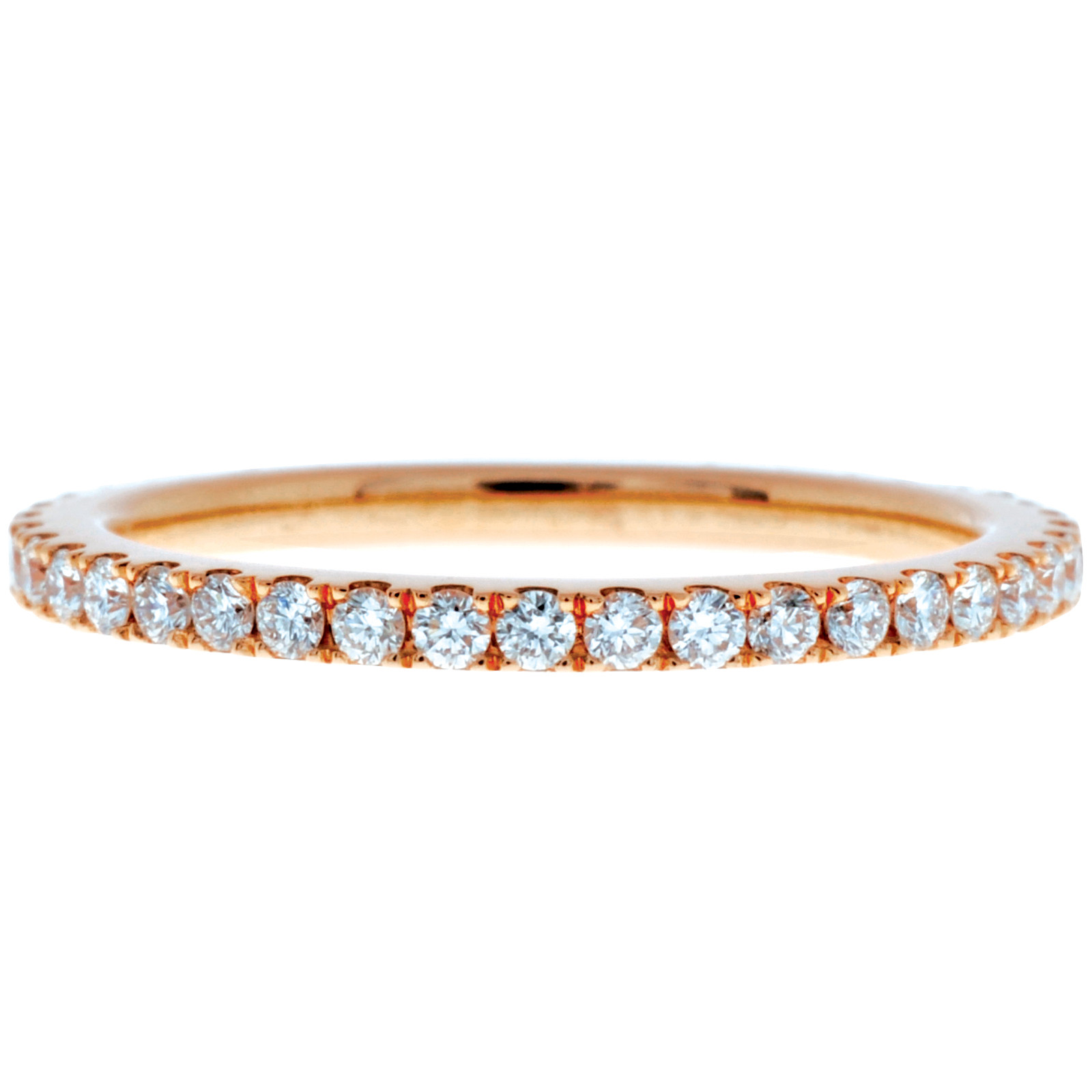 Mémoire® 18K Rose Gold 0.50 CTW Diamond Bouquet Eternity Band